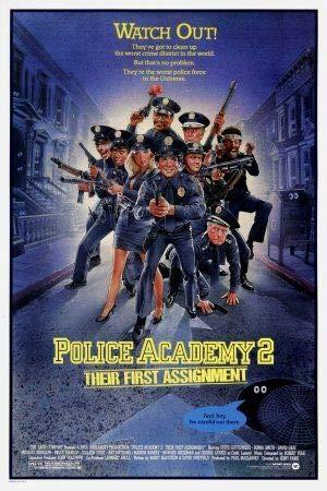 Police Academy 2 – Film Poster Plakat Drucken Bild – 30.4 x 43.2cm Größe Grösse Filmplakat