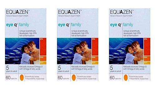 Equazen | Cápsulas Equazen Eye Q | 3 x 60s