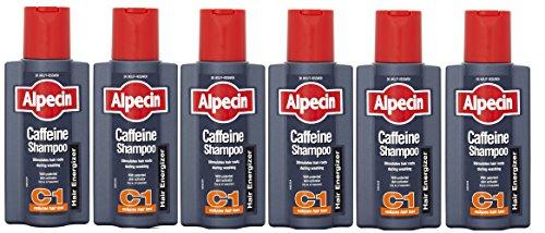 Alpecin Champú cafeína 250 ml - Pack de 6