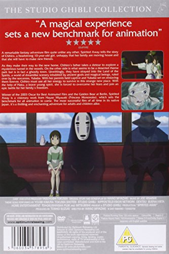 Spirited Away [DVD] [2001]