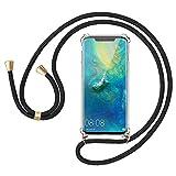 Migimi Collier pour Huawei Mate 20 Pro Coque, Étui de Téléphone avec Cordon, Ultra Mince...