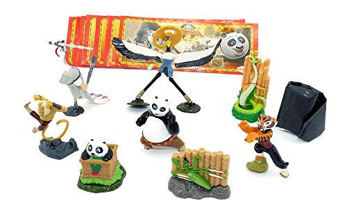 Kinder Überraschung Kung Fu Panda II mit allen 9 BPZ aus Italien