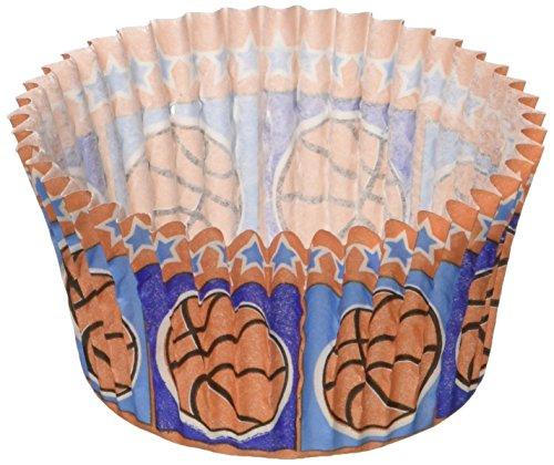 Cupcake Creations Cupcake Papier Standard Backen cups-basketball 32