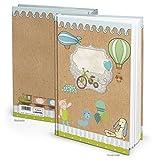 Logbuch-Verlag XXL Notizbuch Kinder Malbuch Babytagebuch Tagebuch Baby Geschenk Taufe Geburtstag Weihnachten Geschenkbuch Zeichenbuch Blankobuch Buch leer