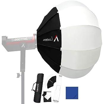 Aputure Mini II de luz de Estudio de tama/ño Compacto Multiusos Parabolic Reflection Softbox Bowens Mount para Aputure LS COB 120T// 120D//120D II// 300D LED Video Light 21,6 Pulgadas