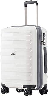 kroeus(クロース)PP100%ボディ スーツケース 容量拡張機能 超軽量タイプ TSAロック搭載 ファスナータイプ キャリーケース 日本語取扱説明書 1年間保証付き