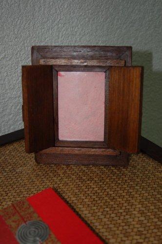 Wilai Bilderrahmen 9x13 cm Teakholz Kolonialstil