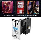 HEEPDD Selector de Monedas, clasificador de Monedas de CPU electrónico avanzado de Roll Down comparable para la máquina expendedora de Juegos Arcade