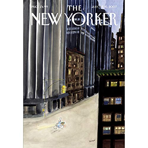 The New Yorker (July 9 & 16, 2007) audiobook cover art