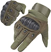 WIDE RANGE OF APPLICATIONS: Our gloves for men and women have a great performance for multi sports like cycling, motorcycle, hiking, climbing and other outdoor sports, also suitable for work, such as lumbering and heavy industry FRIENDLY TOUCH SCREEN...