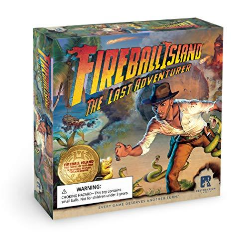 RESTORATION GAMES Fireball Island: Last Adventurer