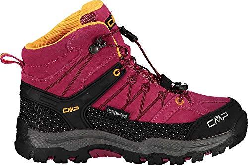 CMP Campagnolo Rigel WP Mid-Cut Trekkingschuhe Kinder bouganville/Goji Schuhgröße EU 35 2020