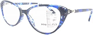 Aiweijia Unisex Vintage Cat Eye Reading Glasses Far and near dual-use glasses