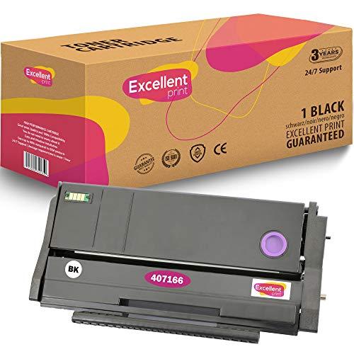 Excellent Print 407166 Compatible Cartucho de Toner para Ricoh SP 100 SP 110 SP 112 SP 112SU