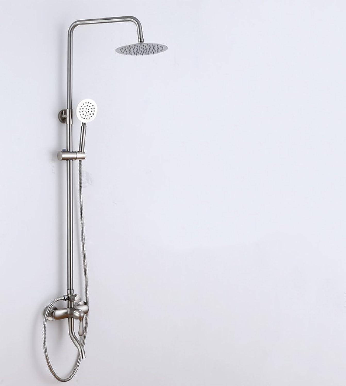 SMQ shower set Brushed Copper Shower Lift Hot Cold Shower Faucet Shower Set