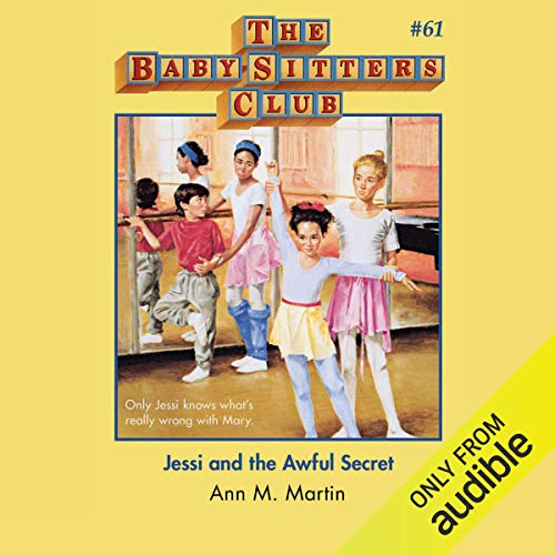 Jessi and the Awful Secret audiobook cover art