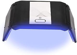 Lámpara de uñas LED UV, secador de uñas Lámpara de uñas LED UV 36W 2LED, juego de esmalte, luz de esmalte de gel, máquina de secado rápido de luz de uñas UV, secador de gel LED para esmalte de uñas.