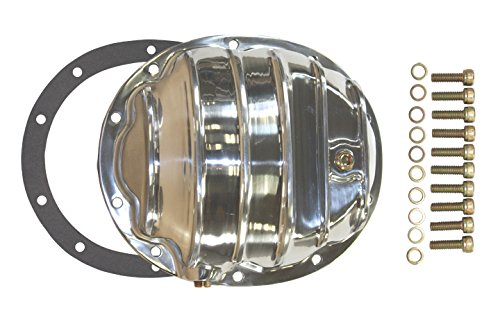 Mota Performance A65247 Polished Aluminum Finned Differential Cover :