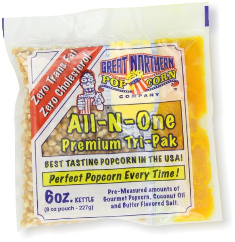 Best Price! 4105 Great Northern Popcorn Premium 6 Ounce (Pack of 24) Popcorn Portion Packs