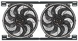 Derale 16834 14' Dual Tornado Electric Fan Assembly with Brackets