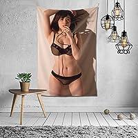 筧美和子 タペストリー インテリア 壁掛け おしゃれ 室内装飾 多機能 寝室 カーテン おしゃれ 個性ギフト 新築祝い 結婚祝い プレゼント ウォール アート(60in*40in)