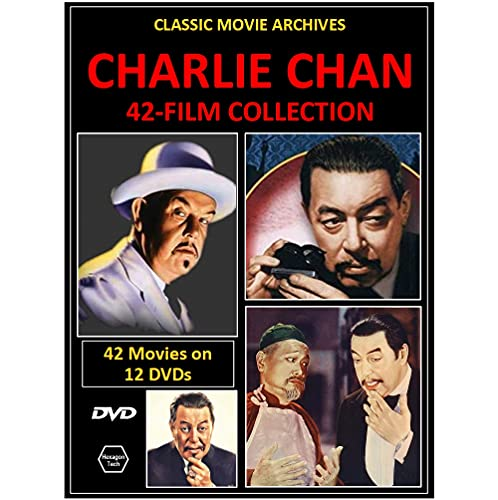 Charlie Chan 42-Movie Collection on 12 DVDs