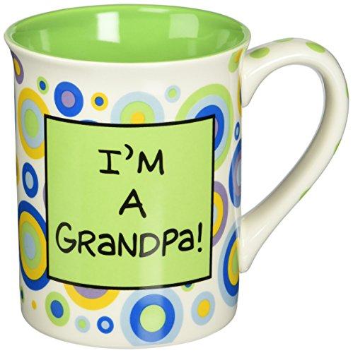Enesco 4029374 Our Name Is Mud by Lorrie Veasey I'm A Grandpa Mug, 4-1/2-Inch