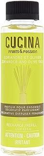 Cucina Coriander and Olive Tree 4.2 oz Decorative Diffuser Fragrance Refill