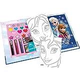 Smoby - 7600320404 - Livre de maquillage - Frozen - Reine des neiges
