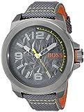 Hugo Boss Orange 1513344 Orologio al quarzo da uomo, display analogico classico e cinturino in nylon