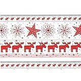 Susy Card 40023960 - Geschenkpapier Weihnachten, 2 m, Elmar, 1 Stück