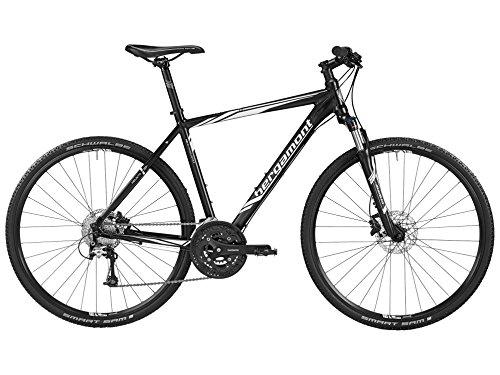 Bergamont Helix 7.0 Herren Cross Trekking Fahrrad schwarz/weiß 2016: Größe: 52cm (170-178cm)