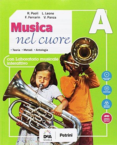 Musica nel cuore. Per la Scuola media. Con e-book. Con espansione online. Con Libro: BES. Con DVD-ROM (Vol. A-B)
