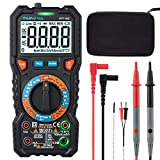 Digital Multimeter TRMS 6000 Counts Tilswall Multimeters High Safety Anti-Scald Double Fuse