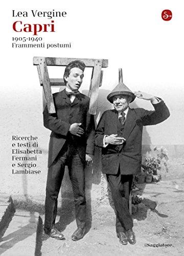 Capri: 1905-1940 Frammenti postumi