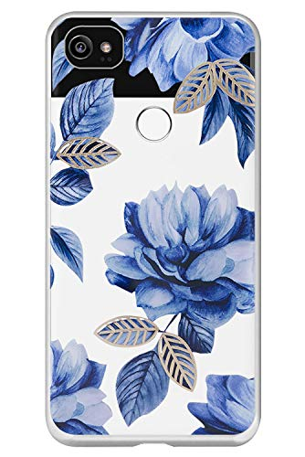 Case for Google Pixel 2XL Lovely Cartoon Marble Geometric Design Ultra Slim Clear TPU Rubber Gel Soft Silicone Cover Shell Anti-Scratch Shockproof Protective Bumper Phone Case for Google Pixel 2XL