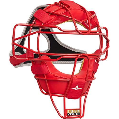 All-Star Fm25 Ultra Cool Lightweight Catchers Mask Scarlet