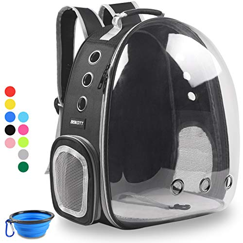BEIKOTT Cat Backpack Carriers Bag, Dog Backpack, Pet Bubble Backpack for Small Cats Puppies Dogs...