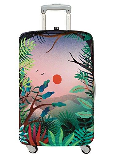 LOQI Artist Hvass & Hannibal Arbaro Luggage Cover, Size - Large Packing Organiser, 30 cm, Multicolour