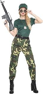45103efab6de Amazon.es: disfraz militar mujer - Envío internacional elegible