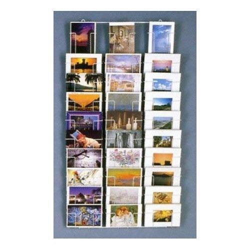 Wand Postkartenständer 10x15 mit 30 Taschen