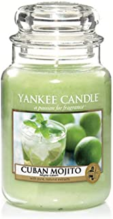 Yankee Candles Cuban Mojito Large Jar Candle,Fresh Scent