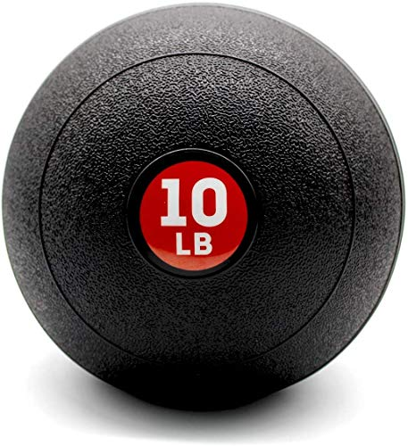 GOOGIC 10lbs Basic Slam Ball Medicine Ball Ideal for Cross Training Core Exercises Plyometric and Cardio Workouts