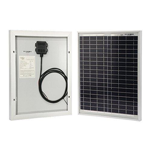 HQST Solar Panel 20W 12V High Efficiency Module Off Grid PV...