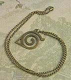 Naruto Necklace, Hidden Leaf Village Symbol, Anime Necklace, Manga Necklace, Fandom Jewelry, Otaku Gift, Naruto Cosplay, Ninja Necklace