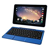 2018 Premium High Performance RCA Galileo Pro 11.5' Touchscreen Tablet Computer with Detachable Keyboard, Intel Quad-Core Processor 1GB Memory 32GB SSD Webcam WiFi Bluetooth Android 6.0, Blue