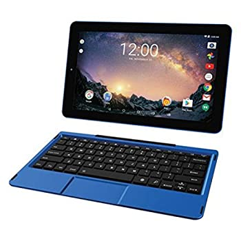 2018 Premium High Performance RCA Galileo Pro 11.5  Touchscreen Tablet Computer with Detachable Keyboard Intel Quad-Core Processor 1GB Memory 32GB SSD Webcam WiFi Bluetooth Android 6.0 Blue