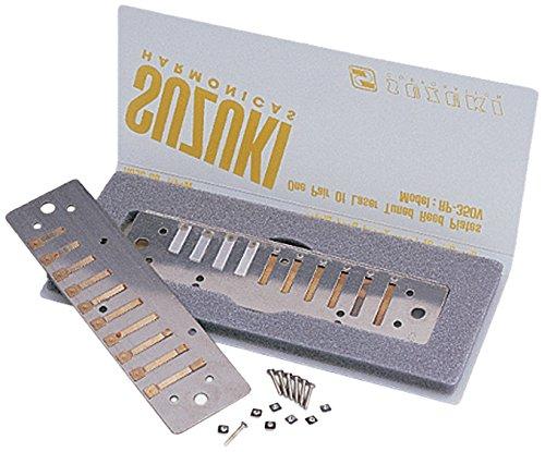 Suzuki RP-500-LF Ersatz-Stimmplatten für PureHarp/FireBreath Mundharmonikas, F Low