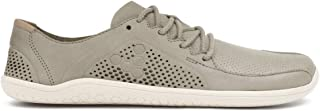 mens grey leather trainers