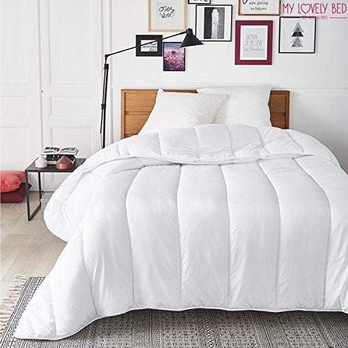 My Lovely Bed - Piumone Quattro Stagioni - Matrimoniale (260x240 cm) - 2 Trapunte con bottoni a pressione - 3 in 1 - Adatto a tutte le Stagioni - Lavabile